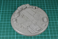 Tabletop Art - Trench warfare 120mm Base