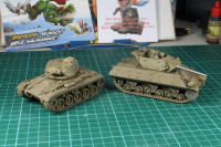 Paint in Progress - US Tanks