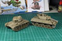 Paint in Progress - US Tanks