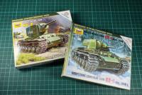 Zvezda 15mm Tanks