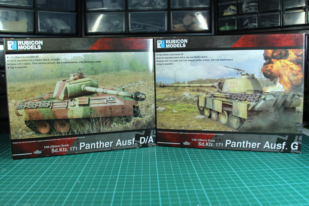 28mm Rubicon Models Panther Ausf G by Rubicon Models