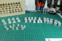 Italeri - Anti Tank Obstacles