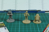 Imperial Assault - Boba Fett, C3PO and R2D2