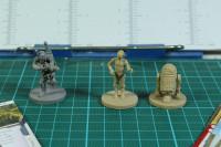 Imperial Assault - Boba Fett, C3PO and R2D2