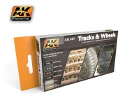 AK Interactive - Tracks and Wheels