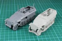 Bolt Action - SdKfz 251/1 Ausf. C Hanomag