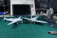 Airfix - Messerschmitt + Spitfire