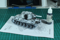 Bolt Action - KV2 Paint in Progress