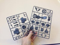 Warlord Games - C3 Plastic Vehicle sprues