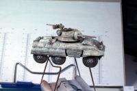 Bolt Action - Captured M8 Greyhound Panzerspähwagen Ford M8(a)