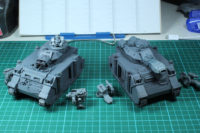 Space Marine Predator Tanks