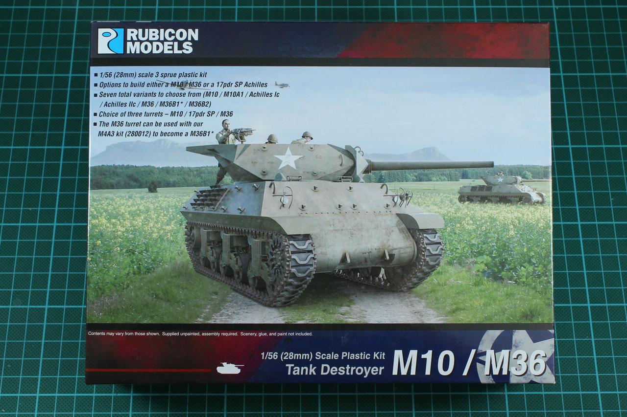 Rubicon Models M10 / M36 Tank Destroyer kit