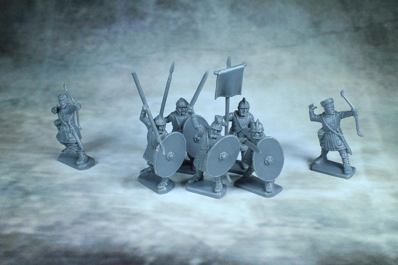 Gripping Beast Plastics Late Roman Infantry Single Sprues