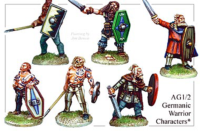 Wargames Foundry - Germanic Warrior Characters