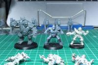 Blood Bowl - Ogre, Mighty Zug and Human Fieldman