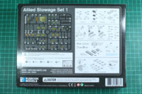 Rubicon Models - Allied Stowage Set 1