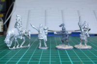 SAGA - Warlord Games Caesarian Romans Scale