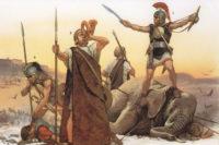 SAGA - Celt-Iberian Warriors Osprey Artwork