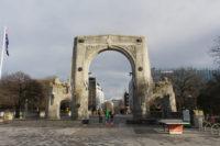 New Zealand - Christchurch Bridge of Remembrance