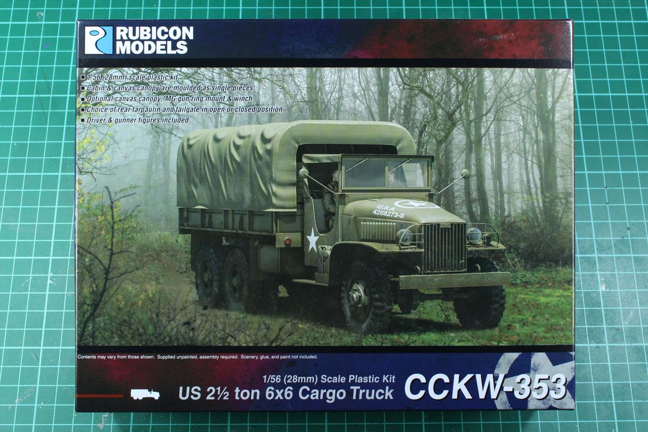 Rubicon Models GMC CCKW-353 2,5t Truck | chaosbunker de