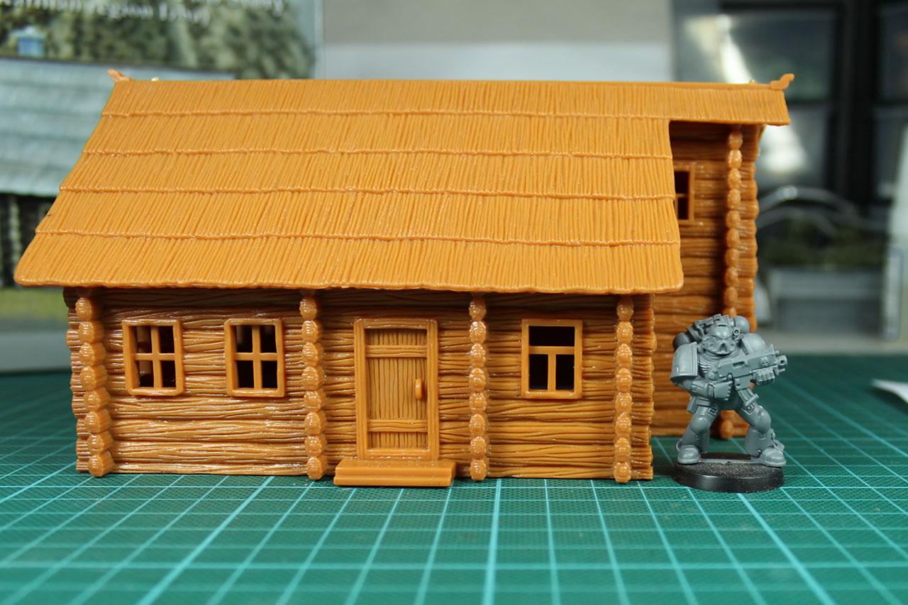 Pegasus 1//72 Russian Log House Karilian region Izba No 7704 kit w//Box 112777