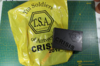 Crisis 2017 Goodiebag - Tinsoldiers of Antwerp