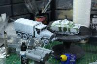 Bolt Action - Primed CCKW Truck + Ersatz StuG III