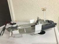Rogue Trader Gun Runner Air Boat by Oscar Barela