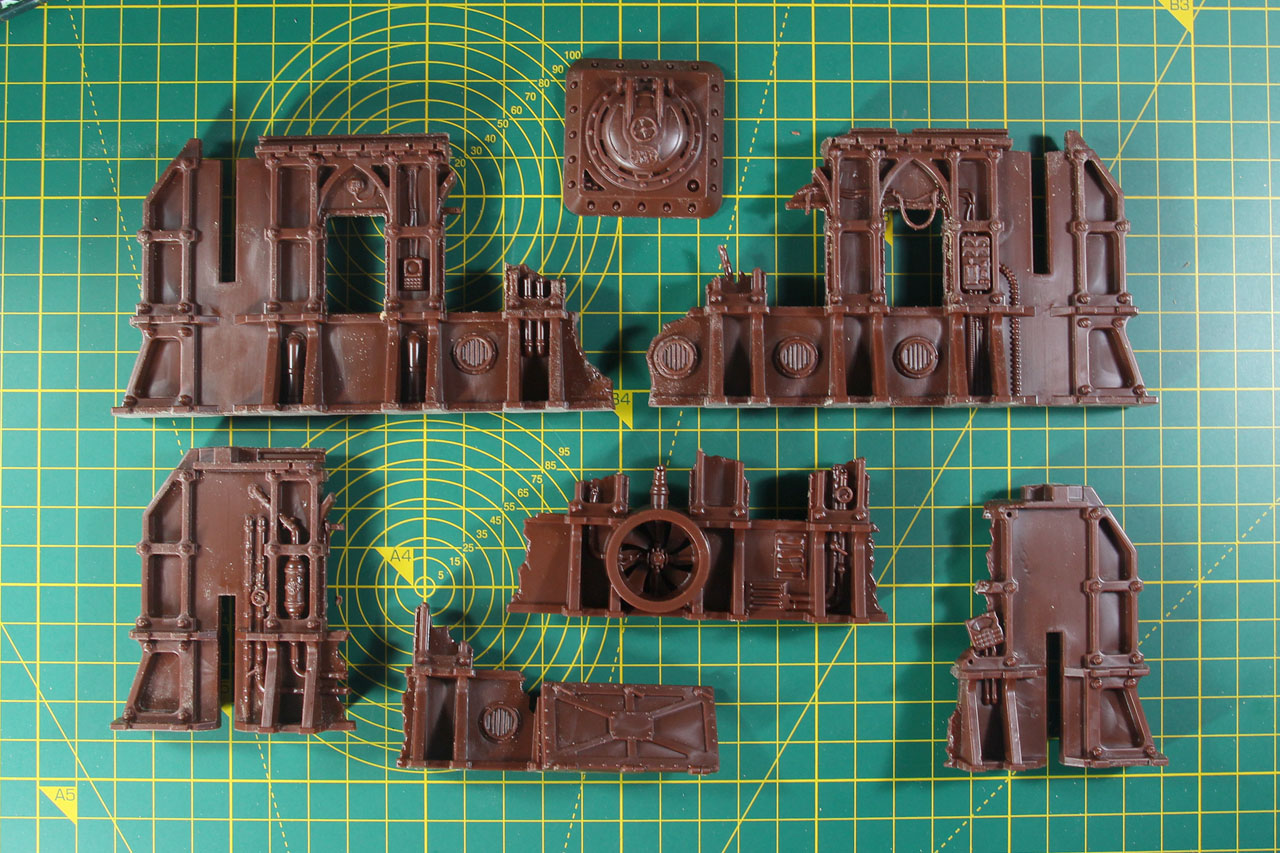 40K STC Ryza-Pattern Ruins Warhammer Terrain Scenery