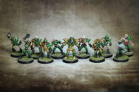 Blood Bowl - Undead Team Golden Vultures