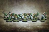 Blood Bowl - Undead Team Golden Vultures