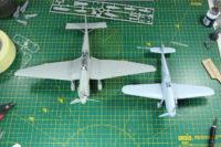 Ju-87 Stuka vs Bf109