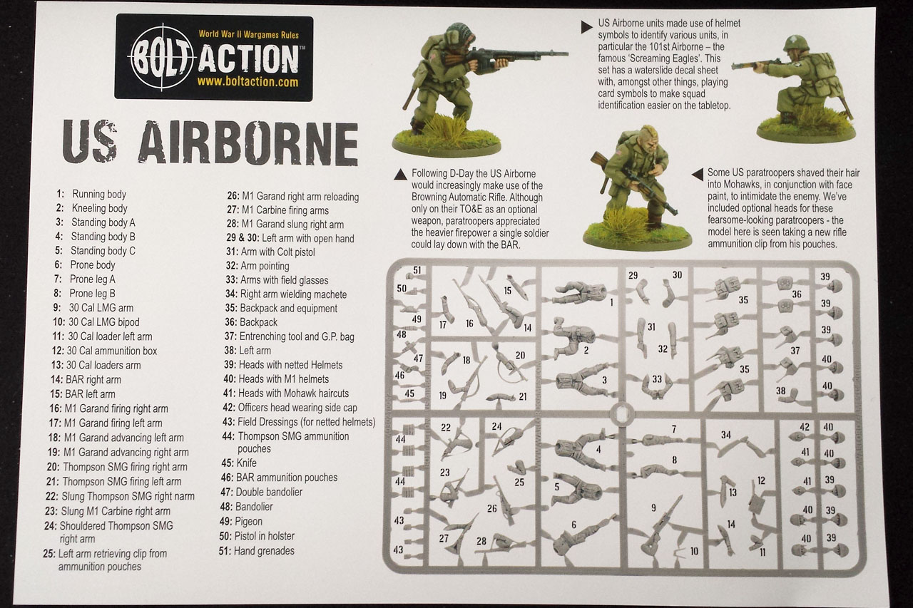 Warlord Games Bolt Action US Airborne Transfers