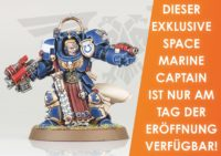 Games Workshop Store Founding Space Marine Captain