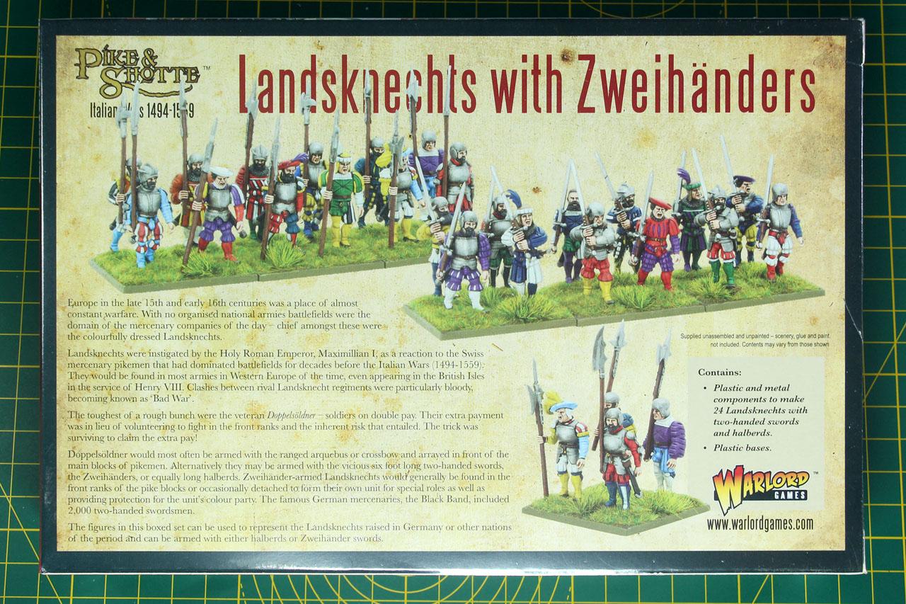 Warlord Games Landsknechts Handbusche