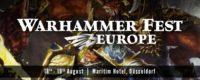 Warhammer Fest Europe 2018
