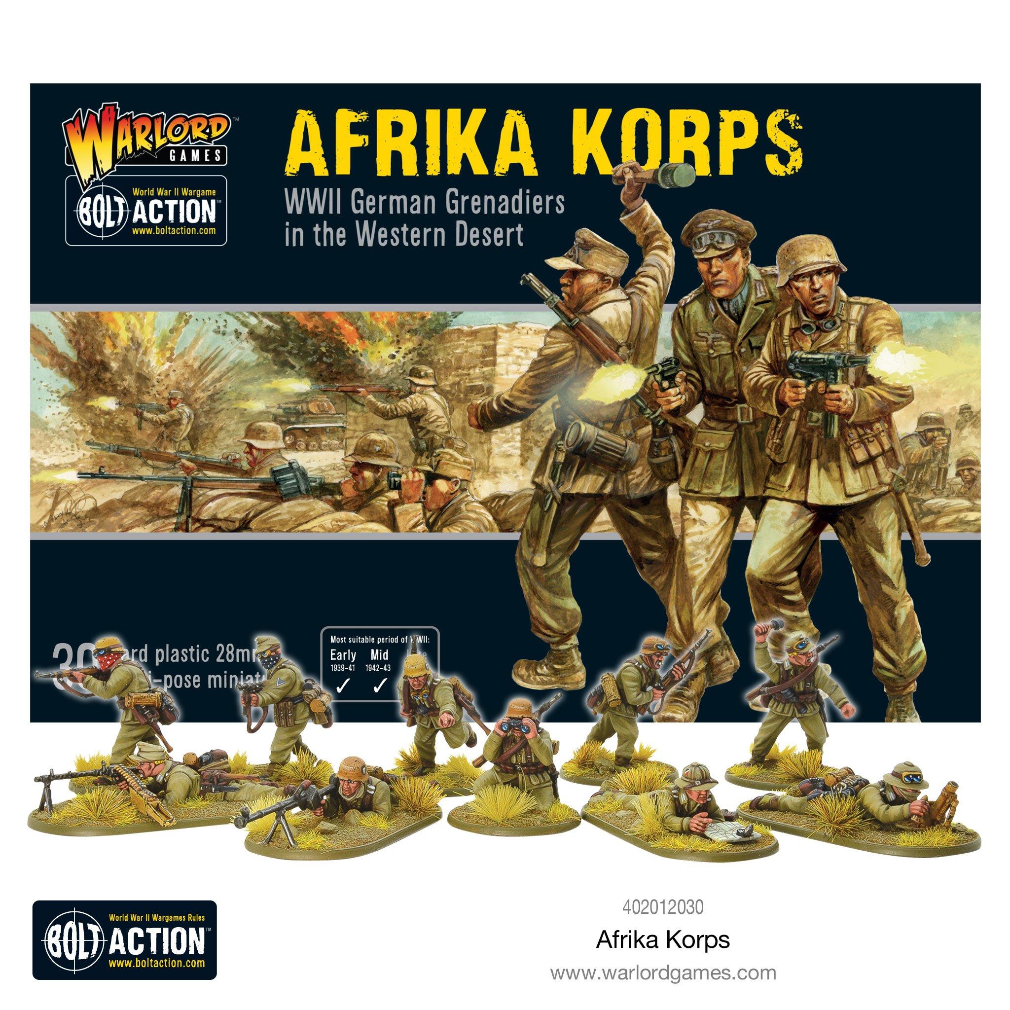 76b187bd8b7b3 Bolt Action - Deutsches Afrika Korps German Grenadiers