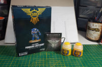 Games Workshop - 500th Store Space Marine Lieutenant
