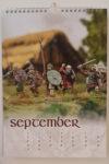 Stronghold Terrain Saga Calendar