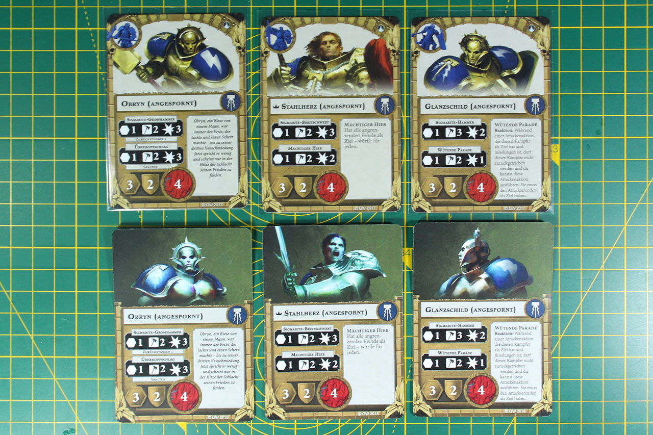 Shadespire Warhammer Underworlds 6 Power Objective Cards Season 2 Organised Play
