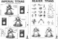 Adeptus Titanicus - Reaver Titan