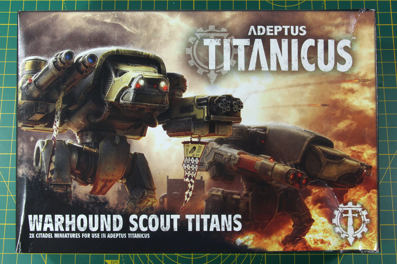 Adeptus Titanicus – Warhound Scout Titans | chaosbunker de