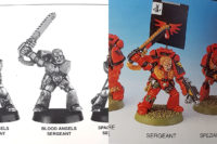Warhammer 40.000 - Blood Angels Sergeant