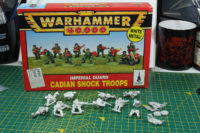 Warhammer 40,000 - Imperial Guard Cadian Shock Troops