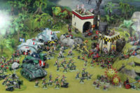 Warhammer 40,000 - Imperial Guard vs Orks