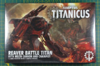 Adeptus Titanicus Reaver Battle Titan with Melta Cannon and Chainfist