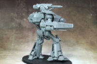 Adeptus Titanicus - Reaver Battle Titan with Melta Cannon and Chainfist