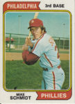 Topps Baseball Card Mike Schmidt