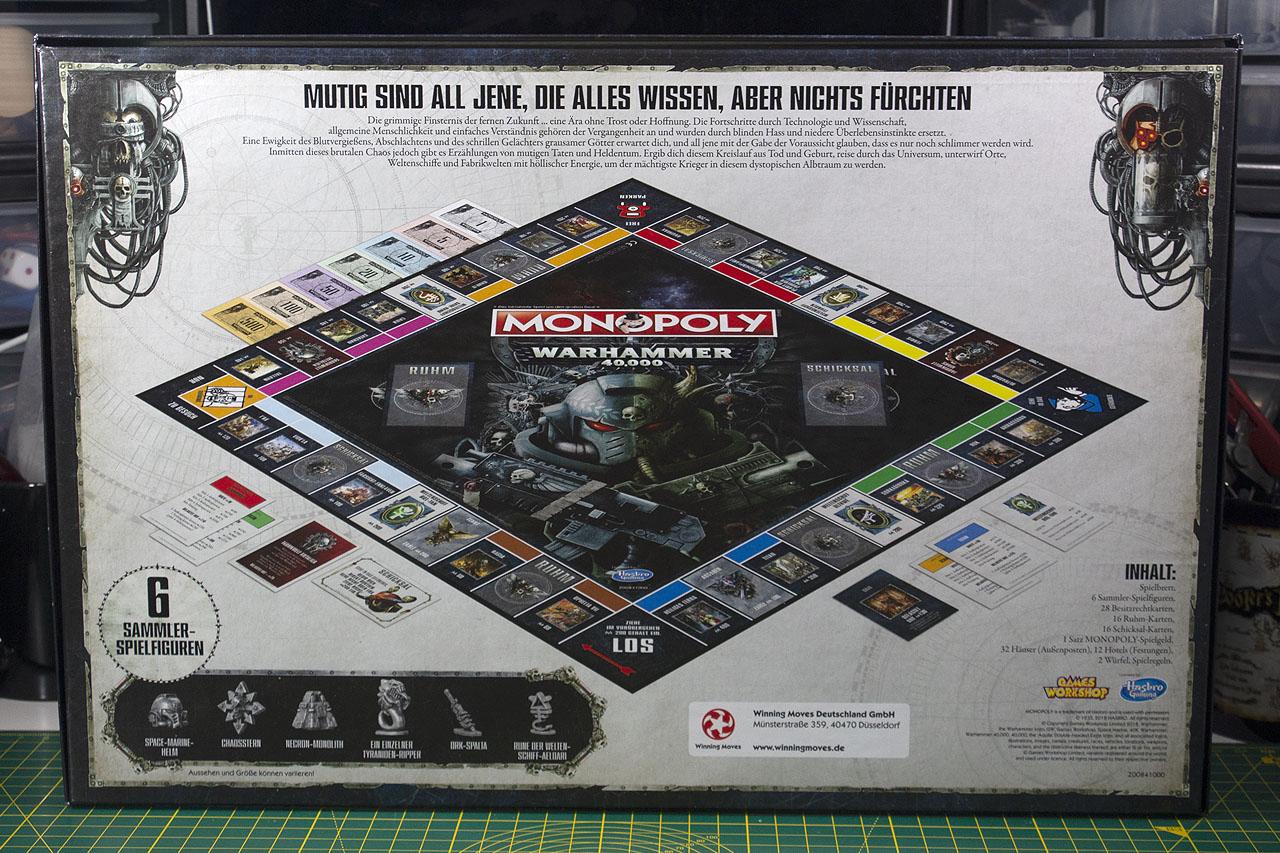 Warhammer 40,000 Monopoly | chaosbunker de