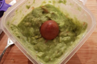 New Year's Eve Dinner - Guacamole